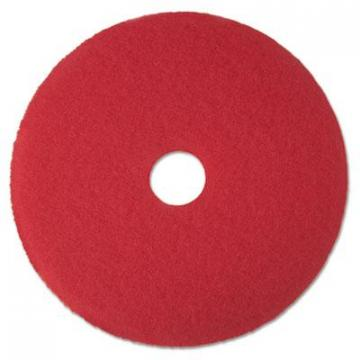 3M 08389 Red Buffer Floor Pads 5100