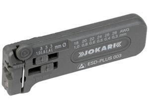 Jokari Miniature stripper, 40029, 28 to 18 AWG, 0.30 to 1.0 mm