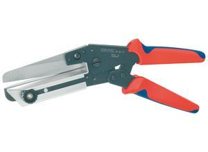 Knipex Vinyl Shears also for cable ducts with multi-component grips 275 mm