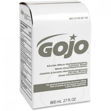 Gojo 921212 800 ml Bag Refill Antibacterial Lotion Soap