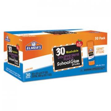 Elmer's E605 Elmers Disappearing Purple All Purpose Glue Sticks