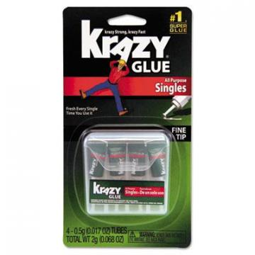 Krazy Glue KG58248SN Single-Use Tubes