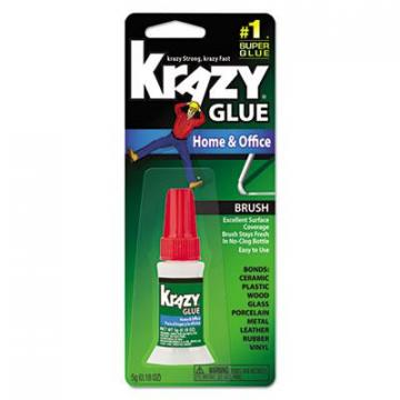 Krazy Glue KG94548R All Purpose Brush-On Krazy Glue
