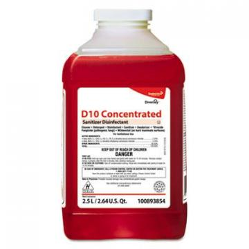 Diversey 100893854 D10 Concentrated Sanitizer Disinfectant