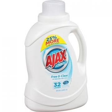 Ajax PB49551CT Free/Clear Liquid Laundry Detergent
