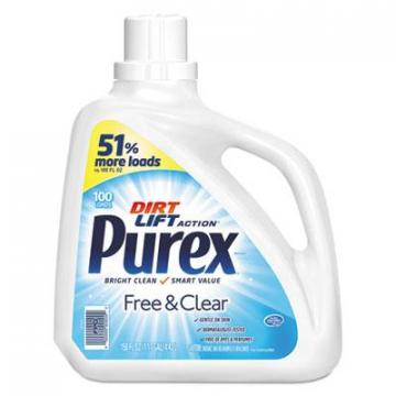 Purex 05020EA Free and Clear Liquid Laundry Detergent