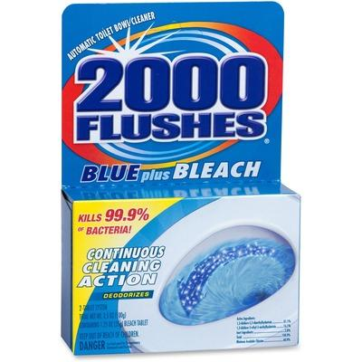 WD-40 208017CT 2000 Flushes Blue/Bleach Bowl Cleaner Tablets