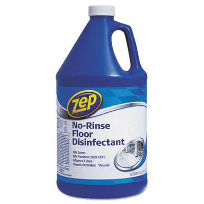 Zep 1041697 Commercial No-Rinse Floor Disinfectant