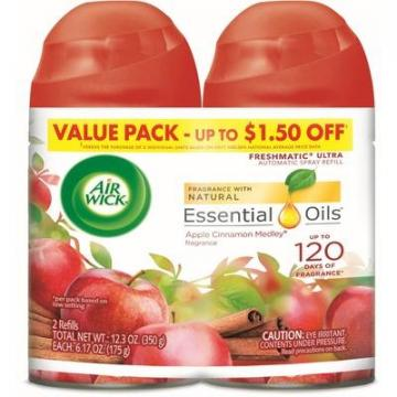 Air Wick 82680CT Apple/Cinn Scent Refill