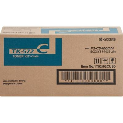 Kyocera TK572C Cyan Toner Cartridge