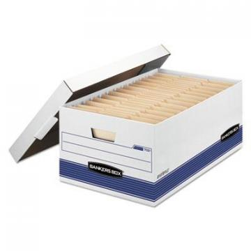"Bankers Box 00702 STOR/FILE Medium-Duty 24"" Storage Boxes"