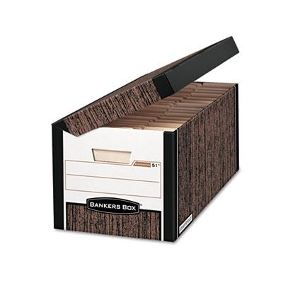 Bankers Box 00052 SYSTEMATIC Medium-Duty Strength Storage Boxes