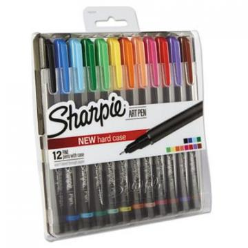 Sanford Sharpie 1982057 Art Pen with Hard Case