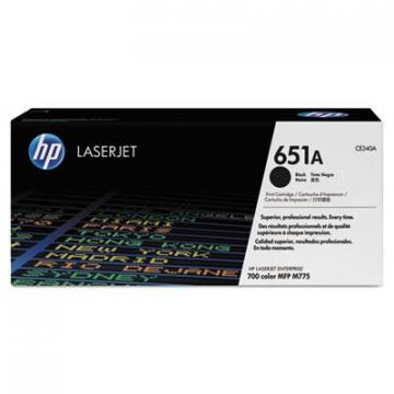HP CE340AG Black Toner Cartridge