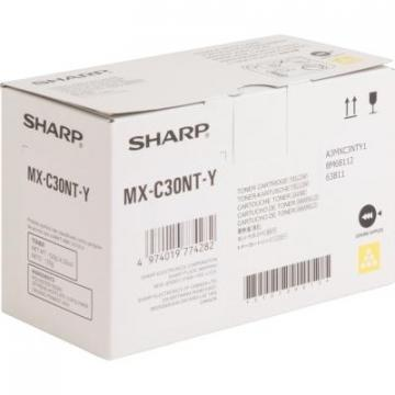 Sharp MXC30NTY Yellow Toner Cartridge Cartridge