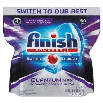 FINISH 92766 Powerball Quantum Max Dishwasher Tabs