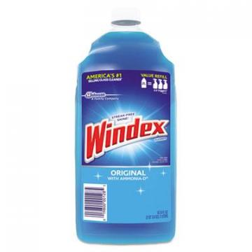 SC Johnson Windex 062128 Powerized Glass Cleaner with Ammonia-D