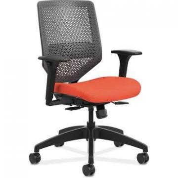 HON SVMR1ACLCO46 Solve Seating Charcoal Back Task Chair