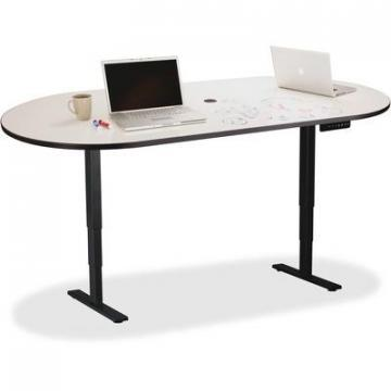 Safco 2503EHATDE Electric Height-adjustable Teaming Table Top