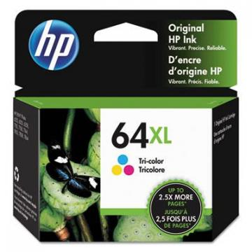 HP N9J91AN Tri-Color Ink Cartridge