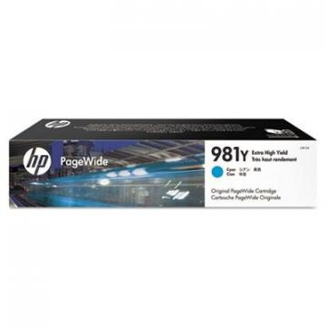 HP L0R13A Cyan Ink Cartridge