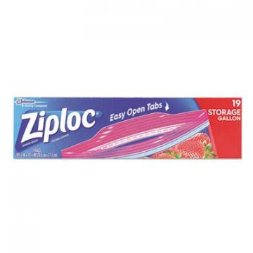 Ziploc 664438 Double Zipper Storage Bags