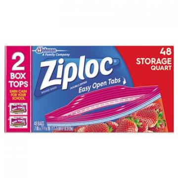 Ziploc 665015 Double Zipper Storage Bags