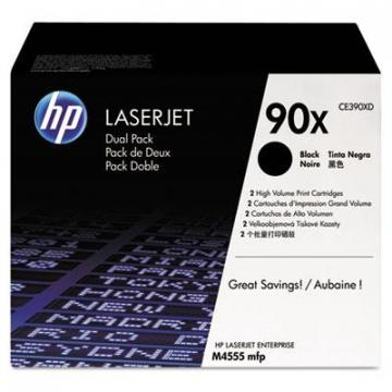 HP CE390XD Black Toner Cartridge
