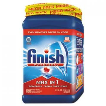 FINISH 98942EA Powerball Max in 1 Dishwasher Tabs