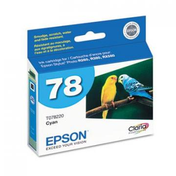 Epson T078220S Cyan Ink Cartridge