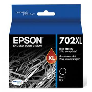 Epson T702XL120S Black Ink Cartridge