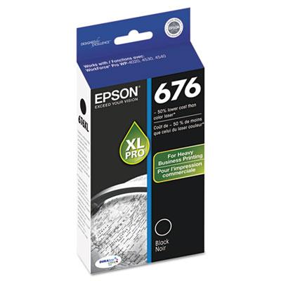 Epson T676XL120S Black Ink Cartridge