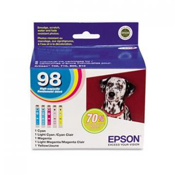 Epson T098920S Cyan; Light Cyan; Light Magenta; Magenta; Yellow Ink Cartridge