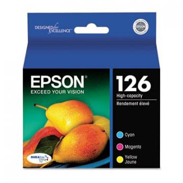 Epson T126520S Cyan; Magenta; Yellow Ink Cartridge