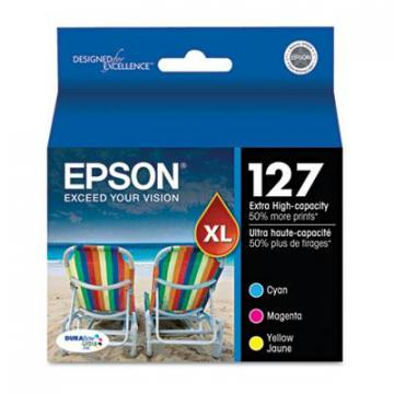 Epson T127520S Cyan; Magenta; Yellow Ink Cartridge