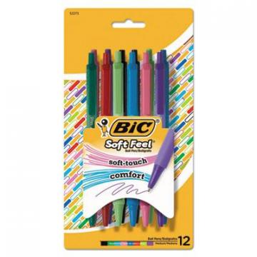 BIC SCSMAP121AST Soft Feel Ball Pen
