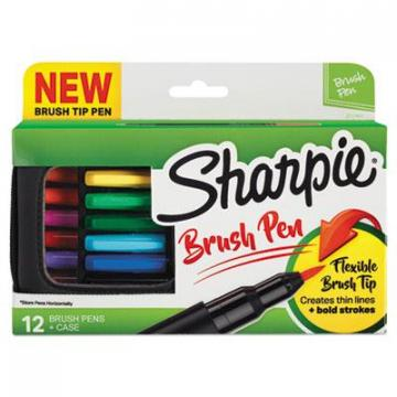 Sanford Sharpie 2011401 Brush Tip Pens