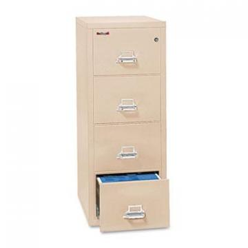 FireKing 42125CPA Four-Drawer Insulated Vertical File
