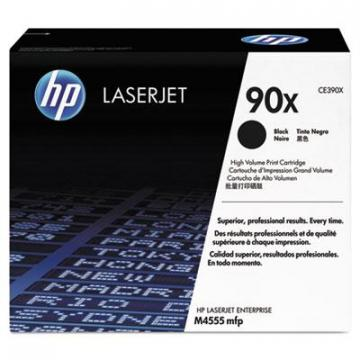 HP CE390X Black Toner Cartridge