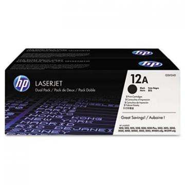 HP Q2612D Black Toner Cartridge