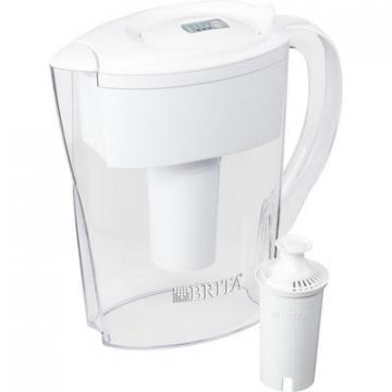 Brita 35566PL Space Saver Water Filter Pitcher
