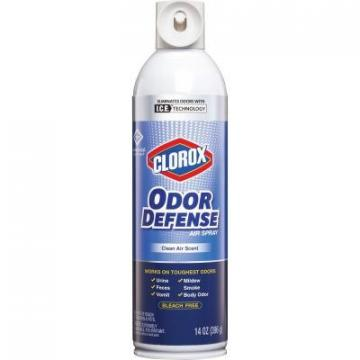 Clorox 31711PL Odor Defense Clean Scent Air Aerosol Spray