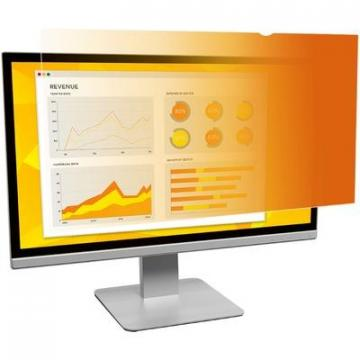 "3M GF215W9B Gold Privacy Filter for 21.5"" Widescreen Monitor"