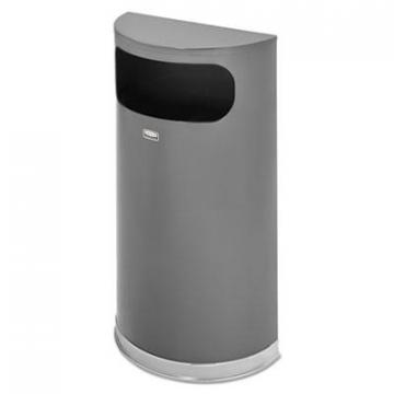 Rubbermaid SO820PLANT Commercial Half Round Flat Top Waste Receptacle