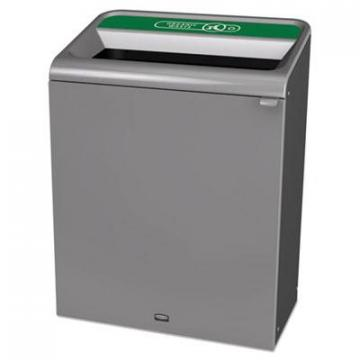 Rubbermaid 1961683 Commercial Configure Indoor Recycling Waste Receptacle
