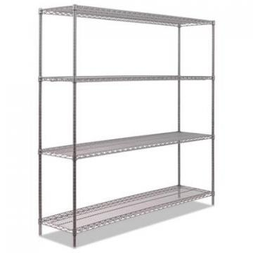 Alera SW207218BA Black Anthracite Plus Wire Shelving Kit
