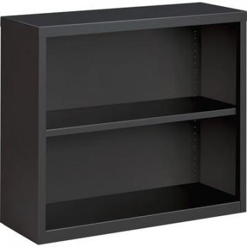 Lorell 59691 Fortress Series Charcoal Bookcase