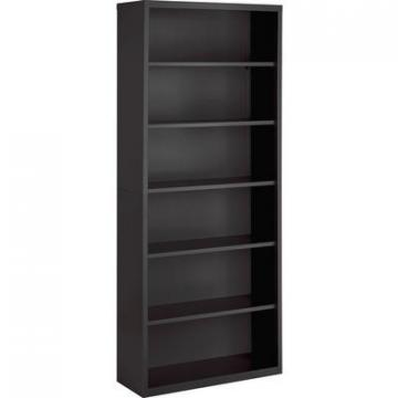 Lorell 59695 Fortress Series Charcoal Bookcase