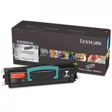 Lexmark E352H21A Black Toner Cartridge