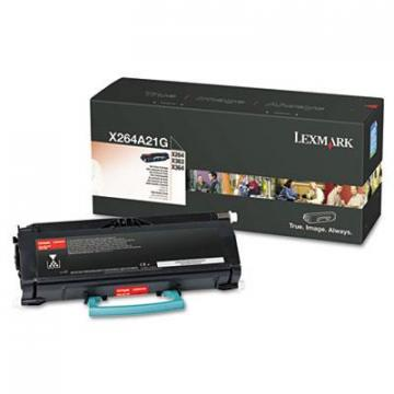 Lexmark X264A21G Black Toner Cartridge